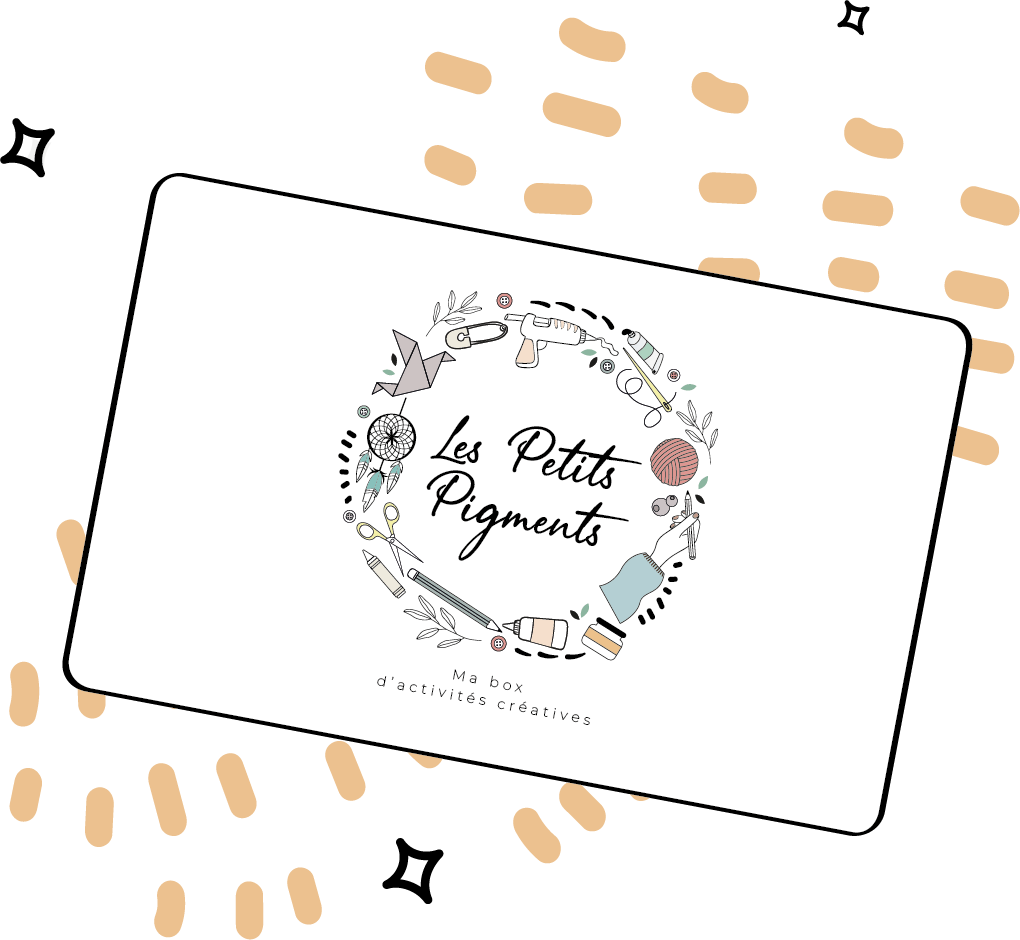 carte cadeau activité créative adulte