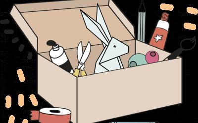 Les Petits Pigments : Ma Box d'activités créatives