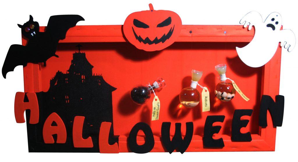 Réalisation créative pour Halloween