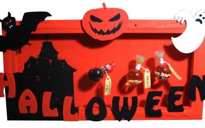 Une décoration créative aux couleurs d'Halloween