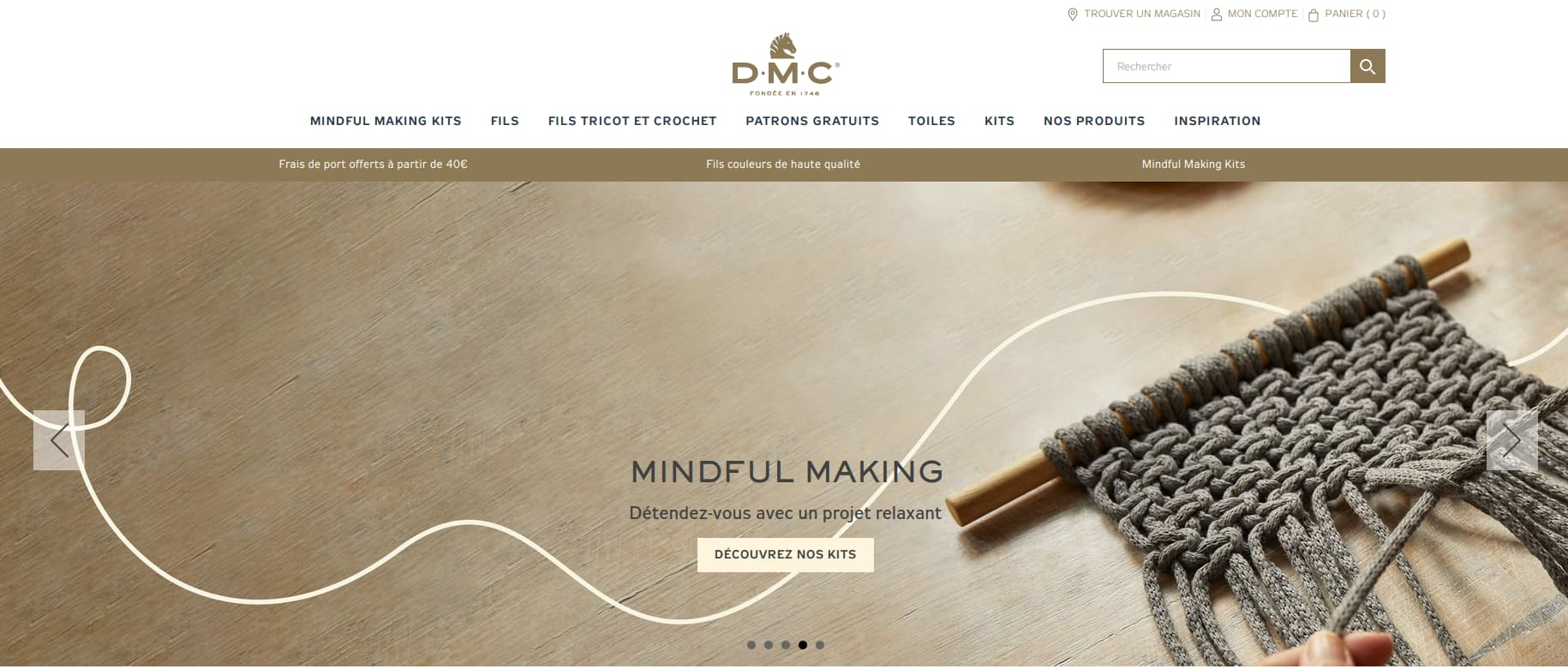 Site internet DMC