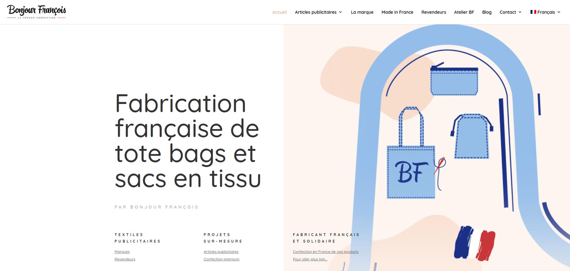 Site internet Bonjour François