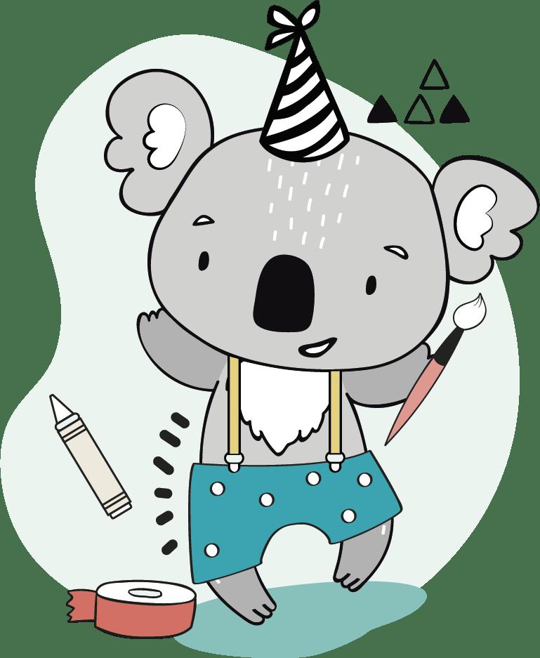 Kalin le petit Koala
