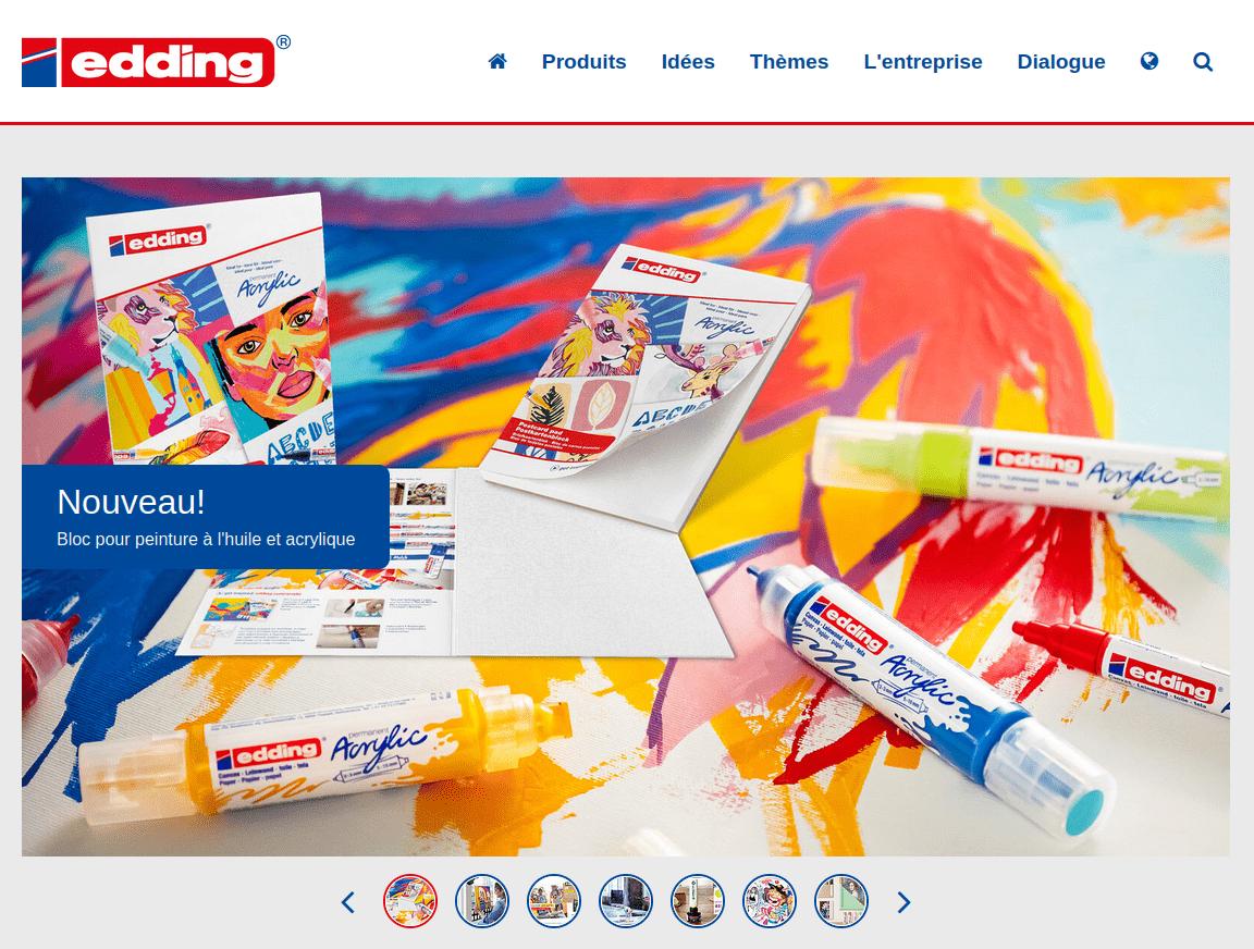 site web edding